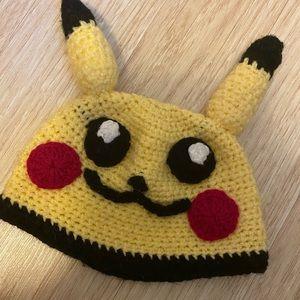 ⭕️5For$5⭕️ Pikachu Crochet Toddler Hat